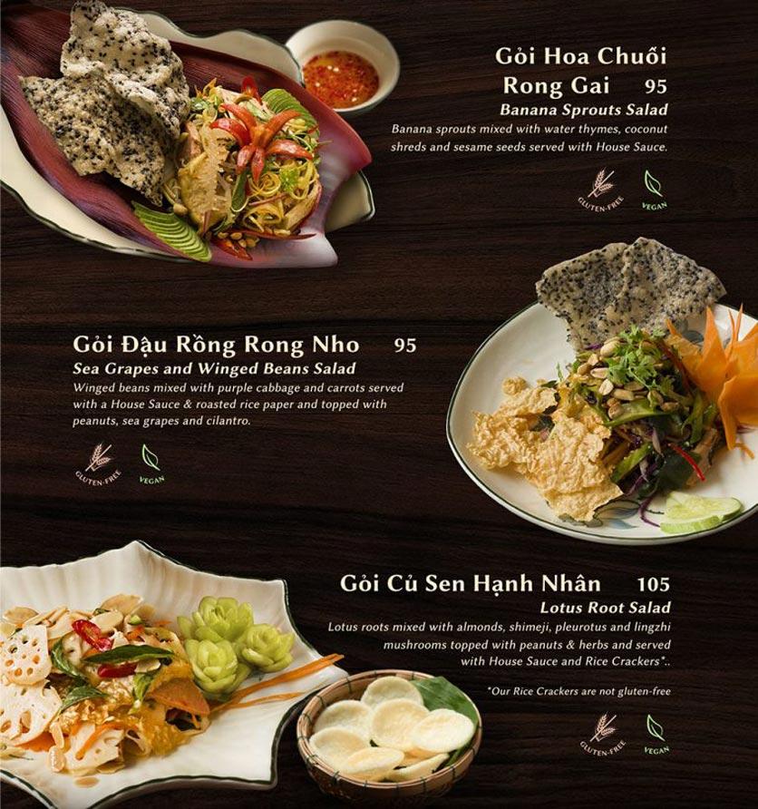 Menu Shamballa Vegetarian Restaurant & Tea House  4