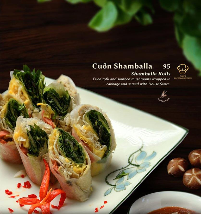 Menu Shamballa Vegetarian Restaurant & Tea House  5