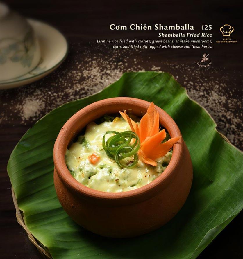 Menu Shamballa Vegetarian Restaurant & Tea House  7