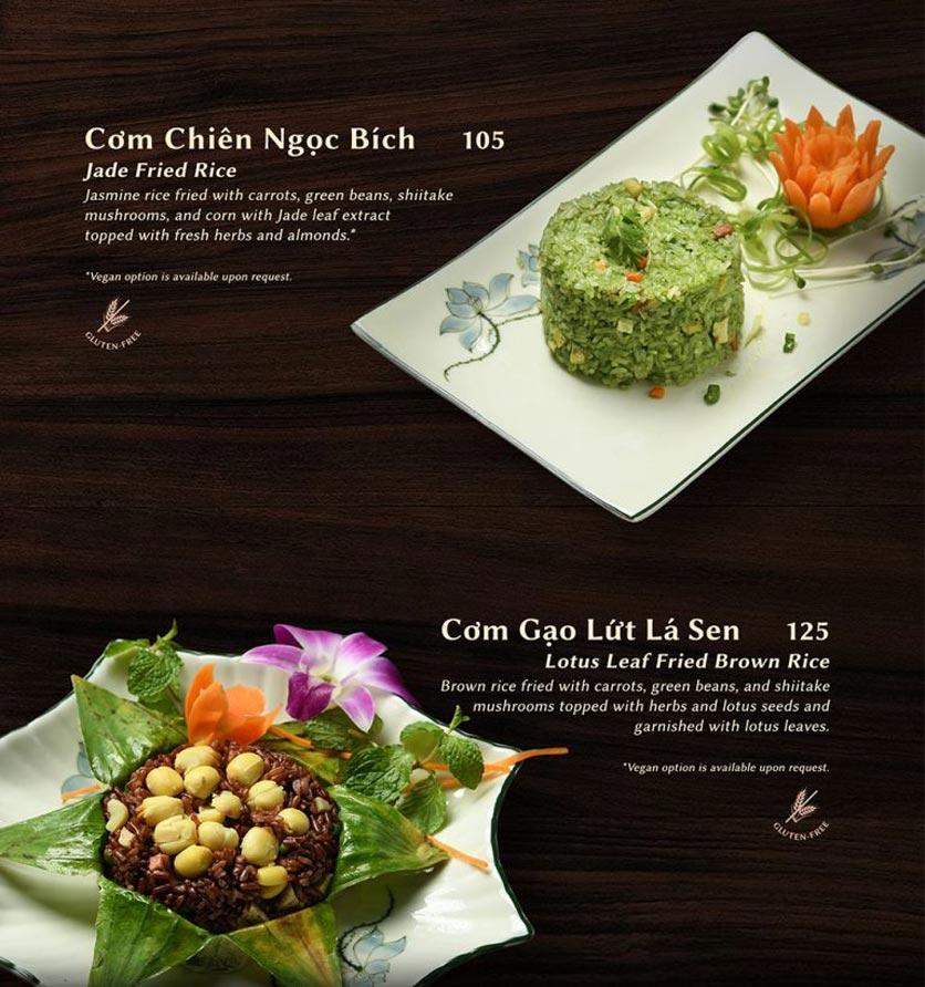 Menu Shamballa Vegetarian Restaurant & Tea House  8
