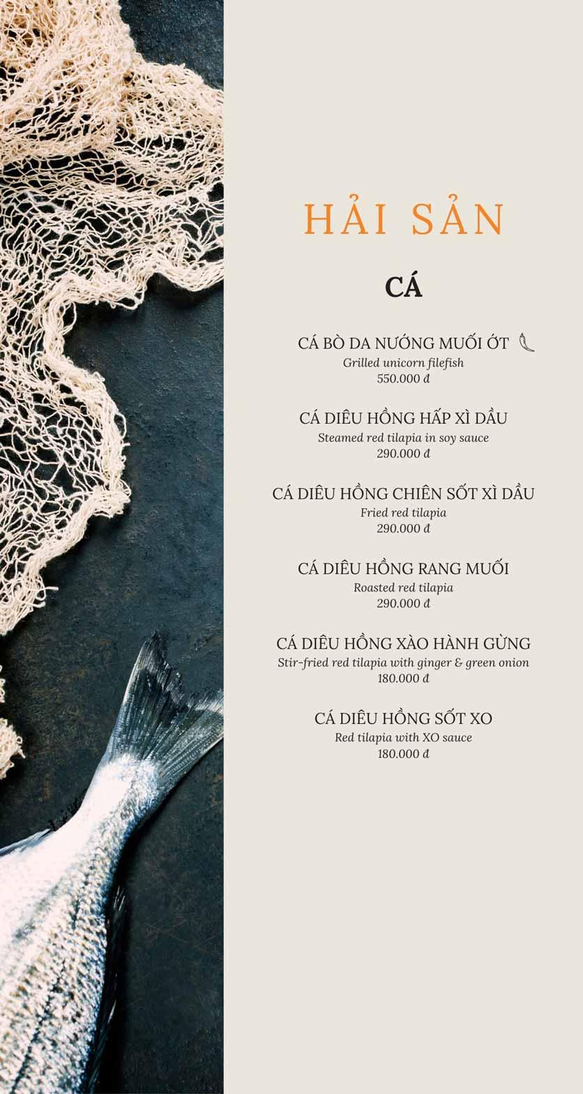 Menu SIGN By A1 - Trung Hòa 8