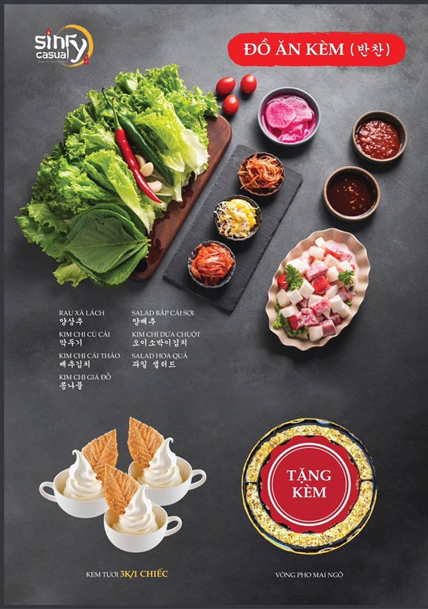 Menu Sinry Bulgogi - Triều Khúc     4