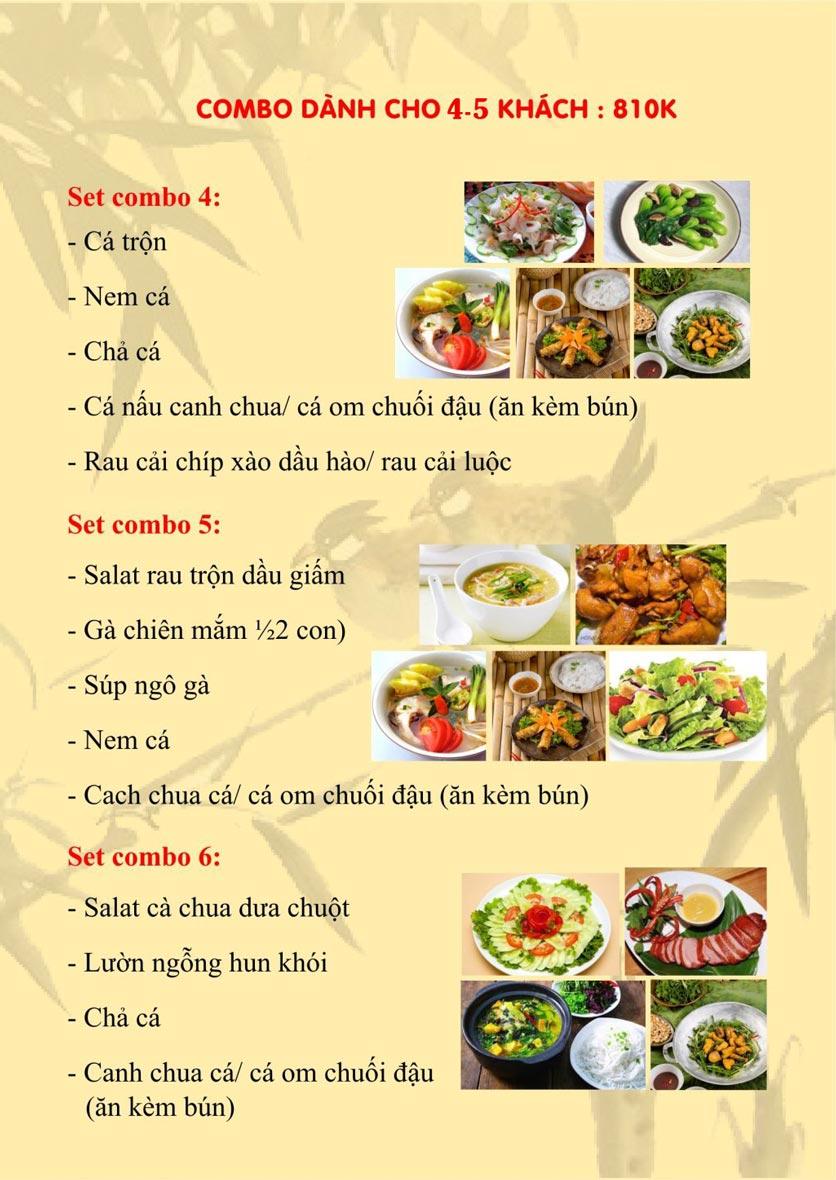 Menu Sơn Thủy Restaurant - Phạm Huy Thông 2