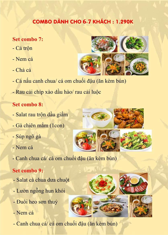 Menu Sơn Thủy Restaurant - Phạm Huy Thông 3