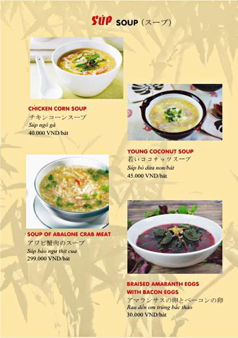 Menu Sơn Thủy Restaurant - Phạm Huy Thông 5