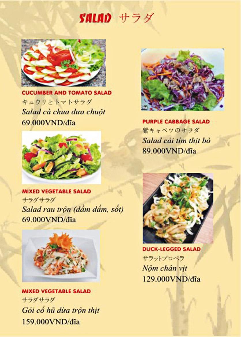 Menu Sơn Thủy Restaurant - Phạm Huy Thông 6