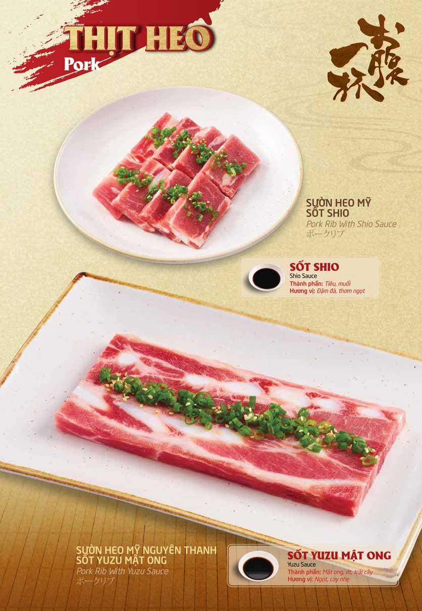 Menu Sumo Yakiniku - Aeon Mall Bình Tân 15