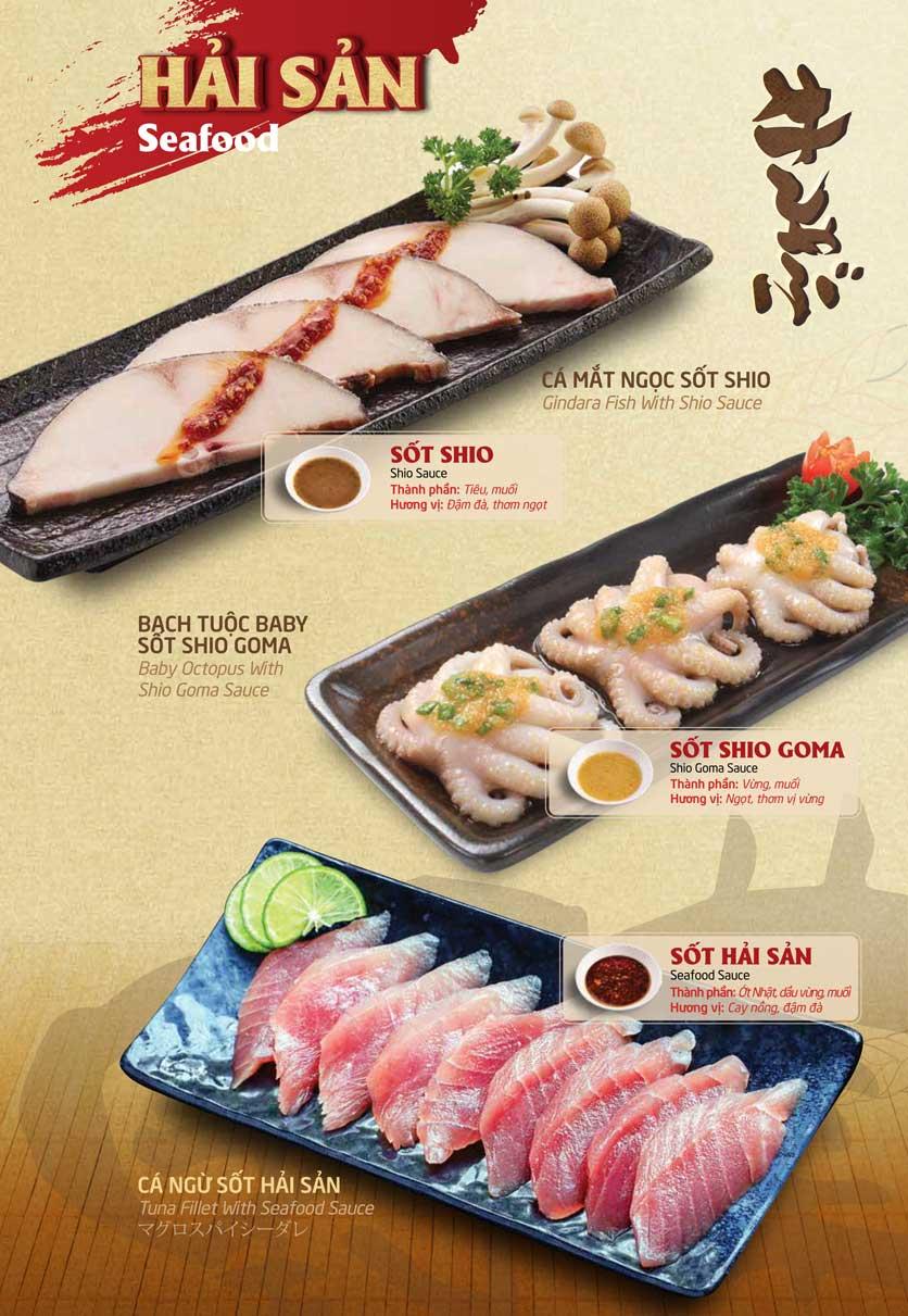 Menu Sumo Yakiniku - Aeon Mall Bình Tân 17