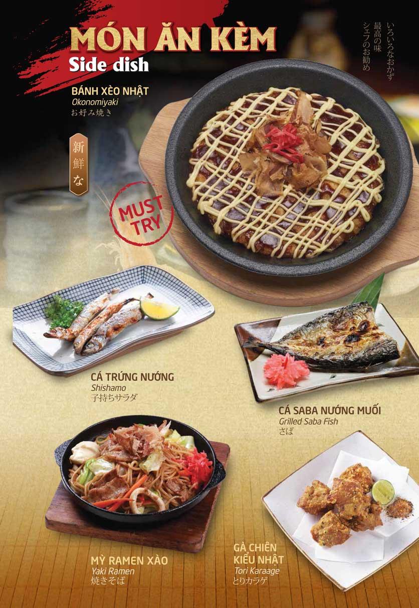 Menu Sumo Yakiniku - Aeon Mall Bình Tân 19