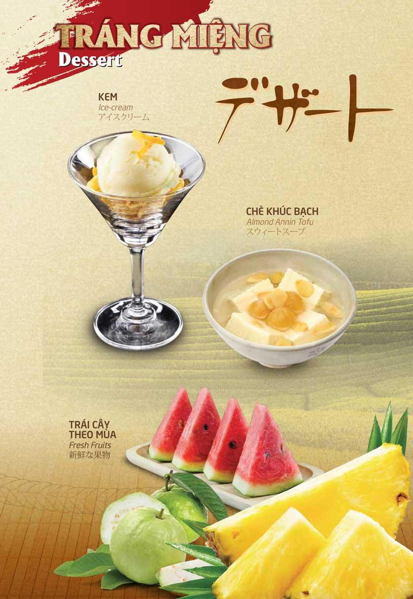 Menu Sumo Yakiniku - Aeon Mall Bình Tân 23