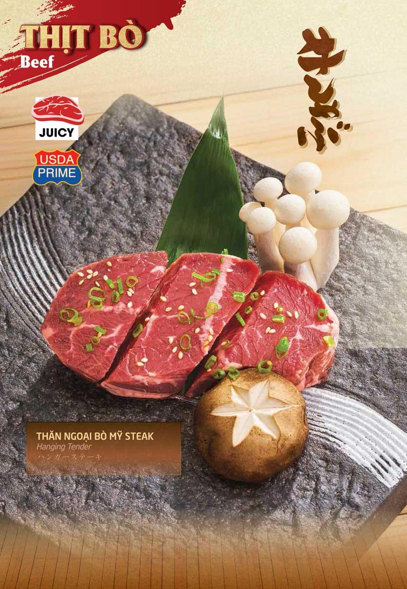 Menu Sumo Yakiniku - Aeon Mall Bình Tân 6