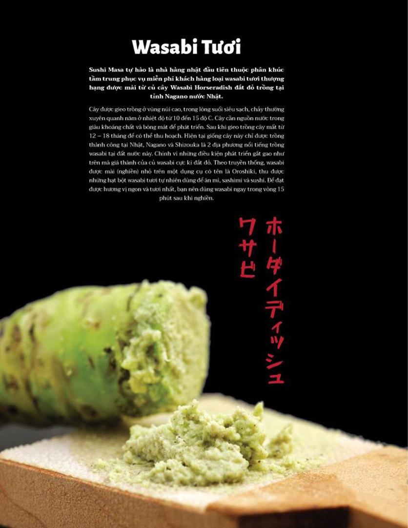 Menu Sushi Masa - Đường 3/2 18