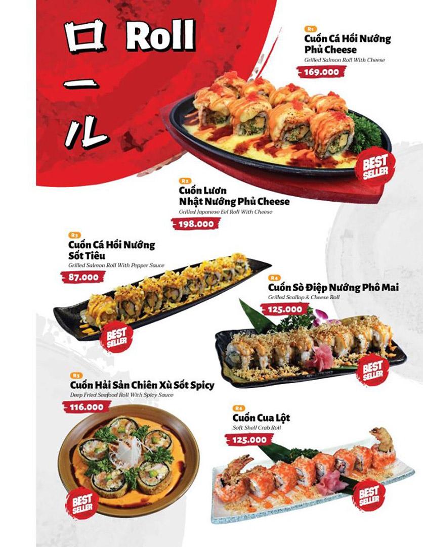 Menu Sushi Masa - Đường 3/2 3
