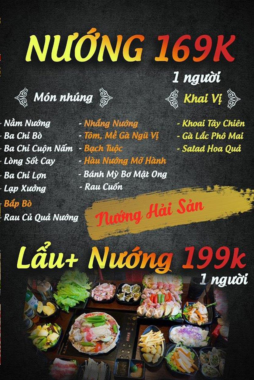 Menu Buffet Lẩu TacaTaca - Nguyễn Khoái 4