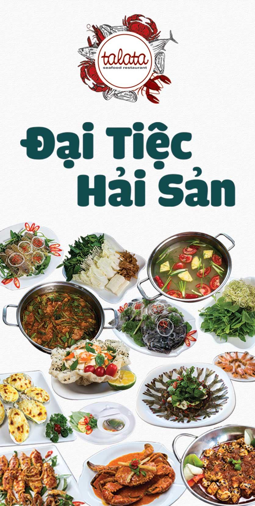 Menu Hải Sản Talata - Huỳnh Thúc Kháng 1