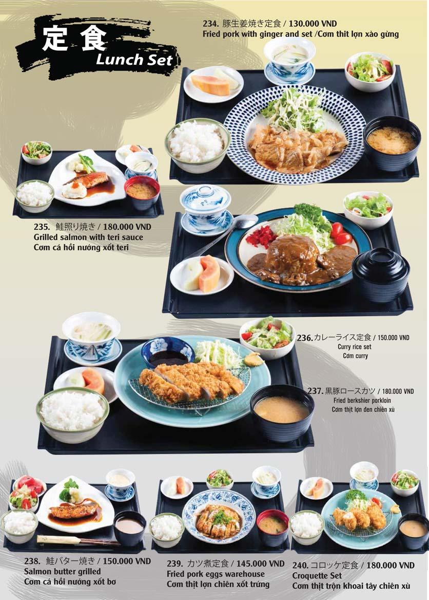 Menu Tamaya Japanese Restaurant - Hai Bà Trưng 50