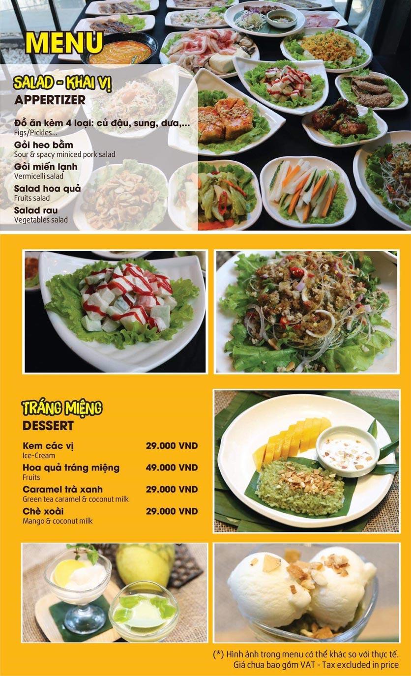 Menu Thai Pattaya  - Láng Hạ 1