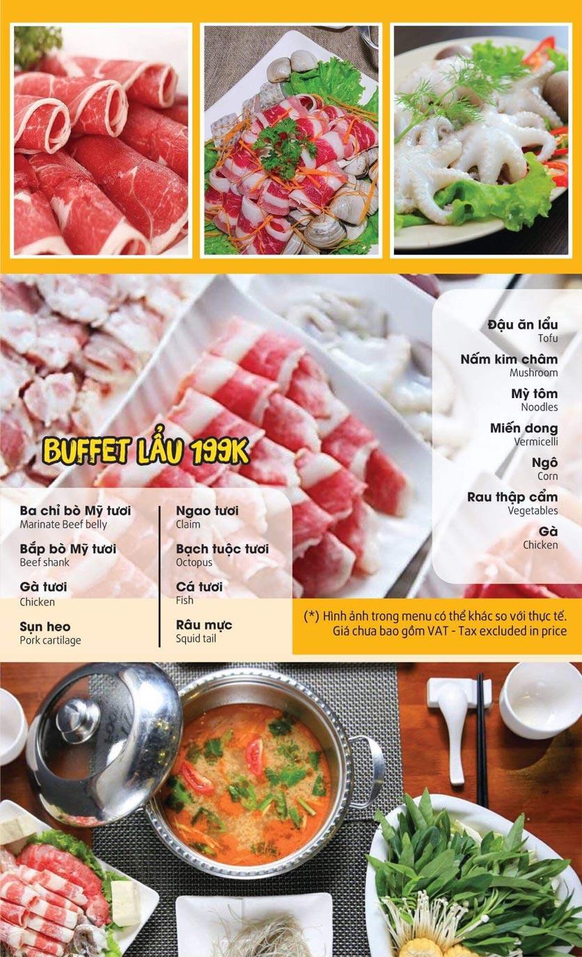 Menu Thai Pattaya  - Láng Hạ 3