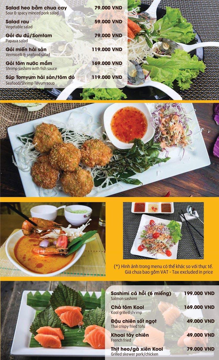 Menu Thai Pattaya  - Láng Hạ 8