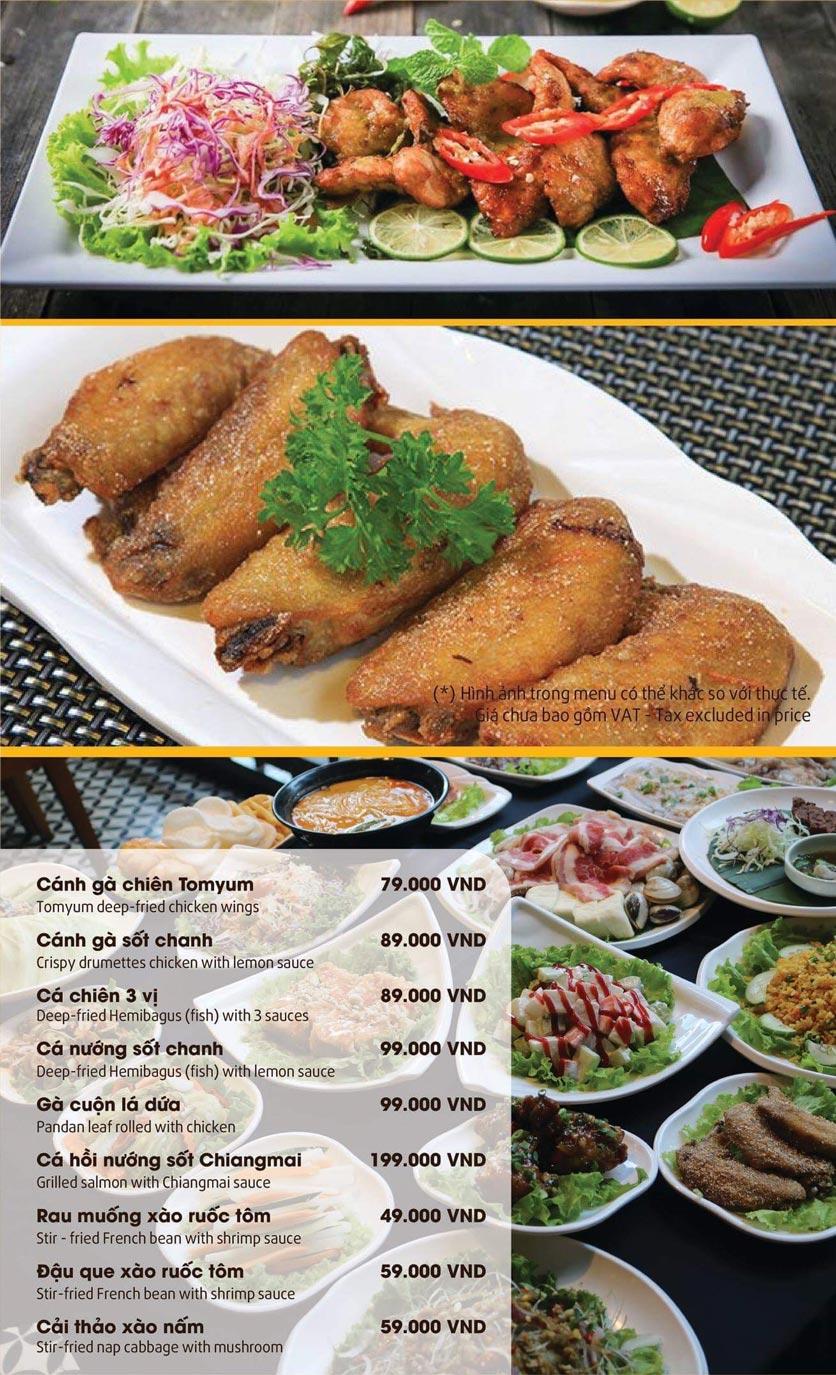 Menu Thai Pattaya  - Láng Hạ 9