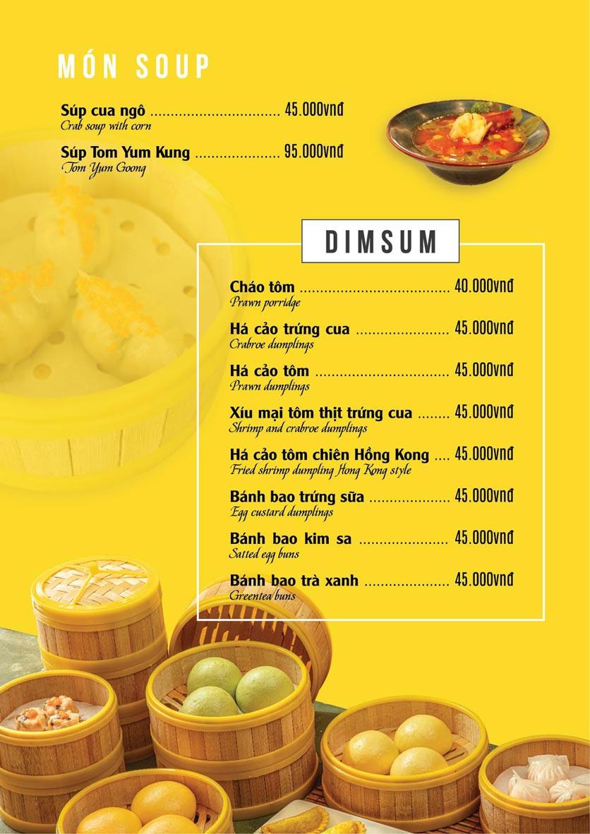 Menu The Deli - Nguyễn Tuân 2
