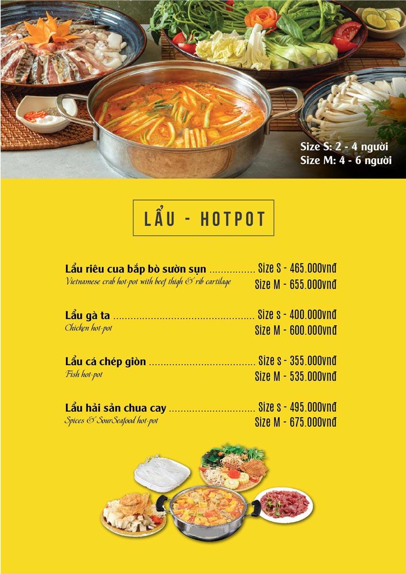 Menu The Deli - Nguyễn Tuân 11