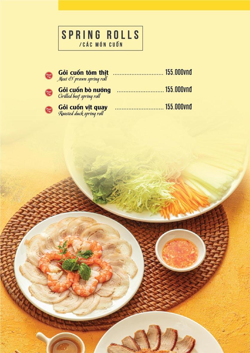 Menu The Deli - Nguyễn Tuân 6