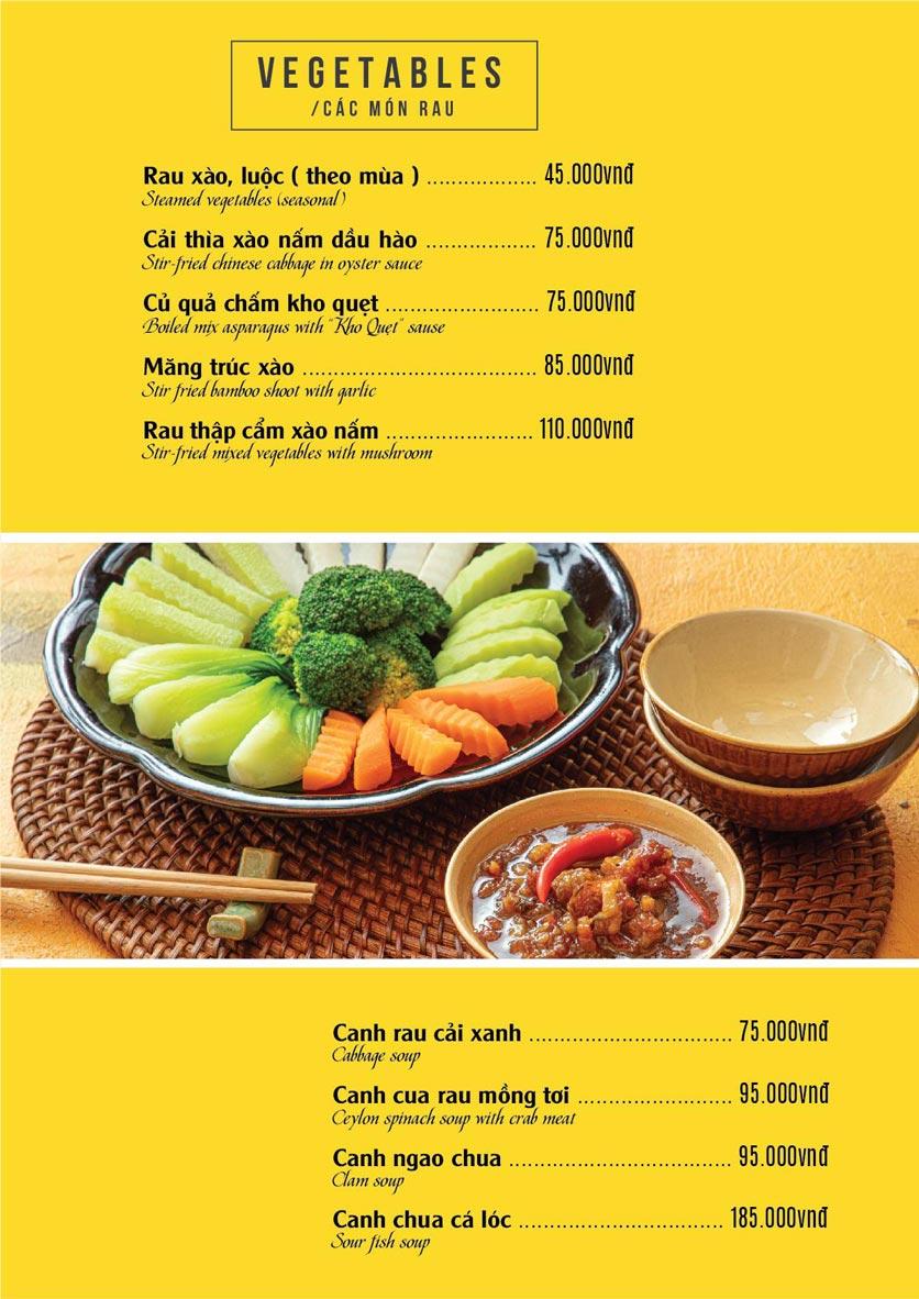 Menu The Deli - Nguyễn Tuân 8