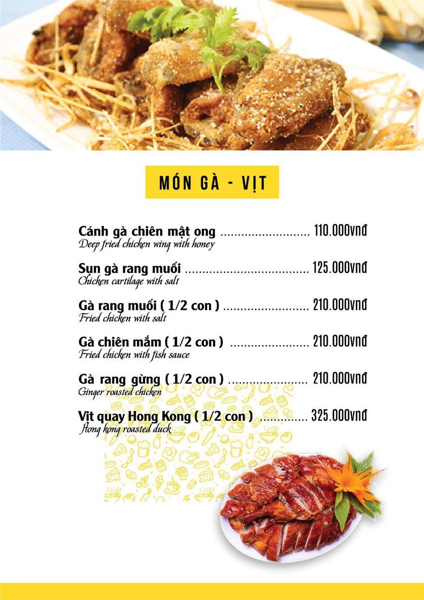 Menu The Deli - Nguyễn Tuân 9