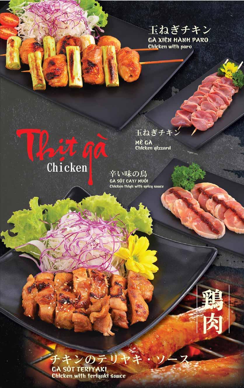 Menu Tokori BBQ - Ngô Quyền 10