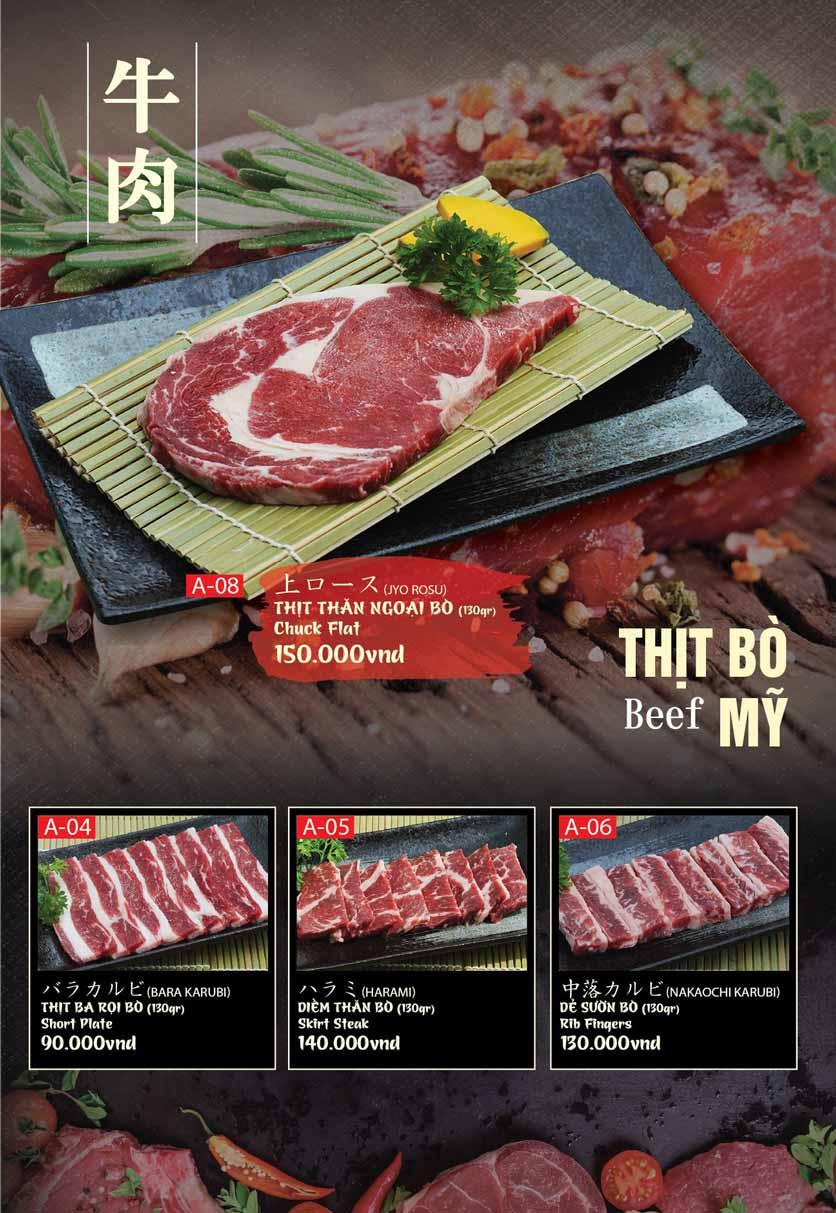 Menu Tokori BBQ - Ngô Quyền 28