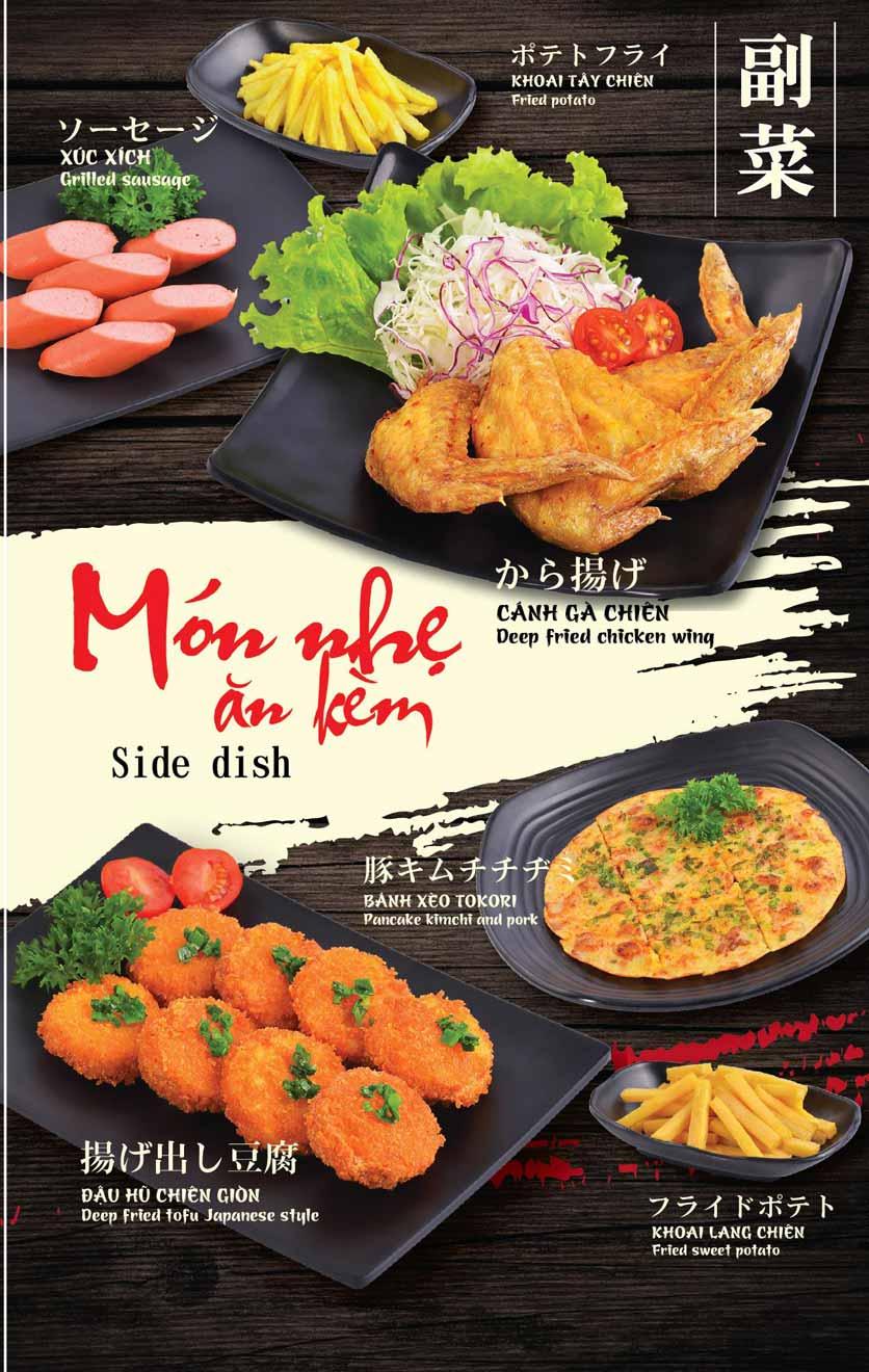 Menu Tokori BBQ - Ngô Quyền 3