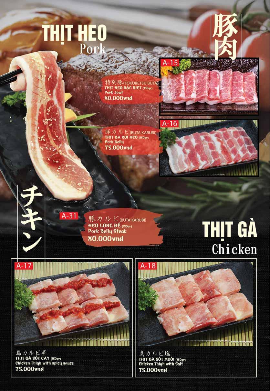Menu Tokori BBQ - Ngô Quyền 30