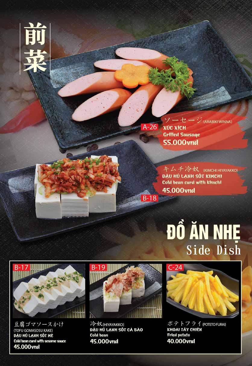 Menu Tokori BBQ - Ngô Quyền 31