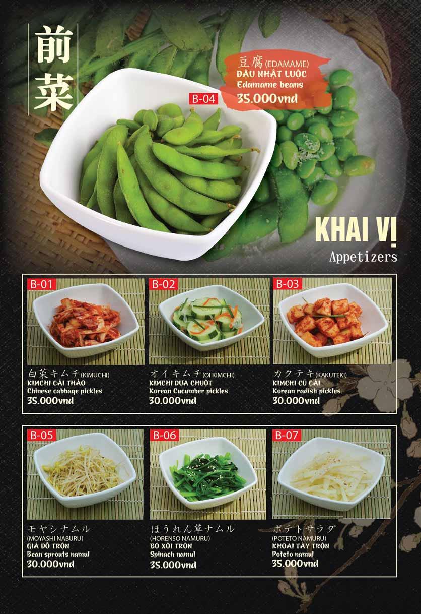 Menu Tokori BBQ - Ngô Quyền 34