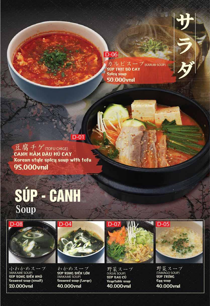 Menu Tokori BBQ - Ngô Quyền 42