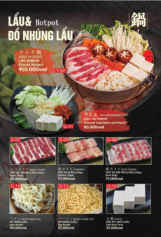 Menu Tokori BBQ - Ngô Quyền 45