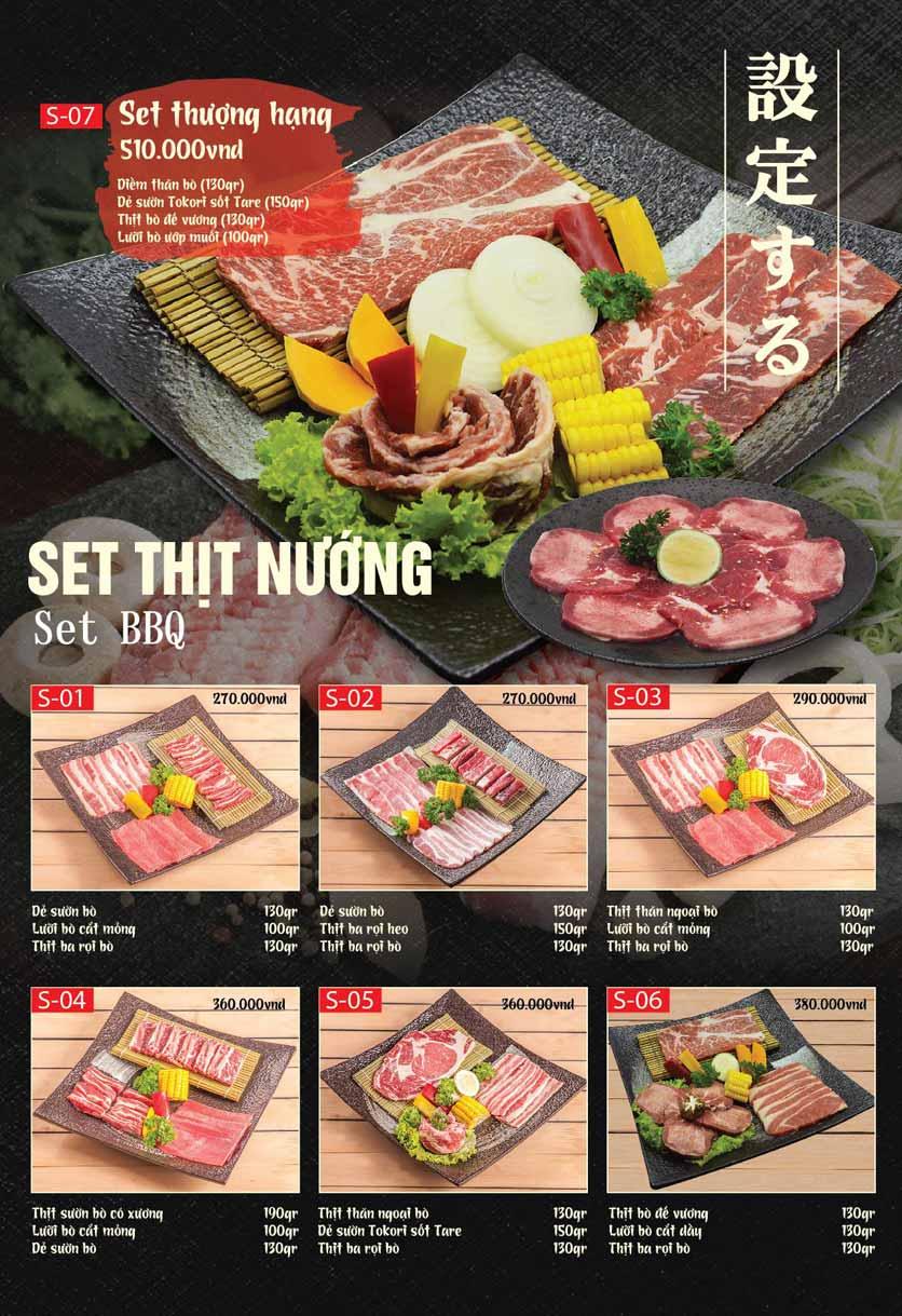 Menu Tokori BBQ - Ngô Quyền 46