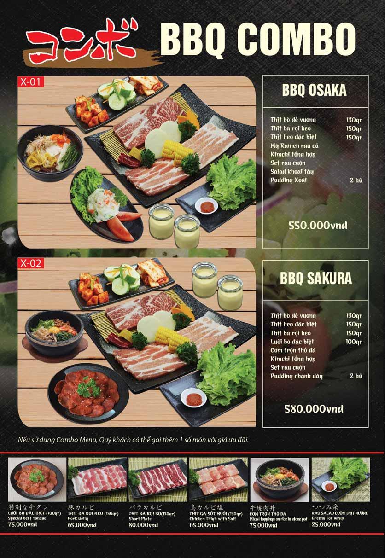Menu Tokori BBQ - Ngô Quyền 48