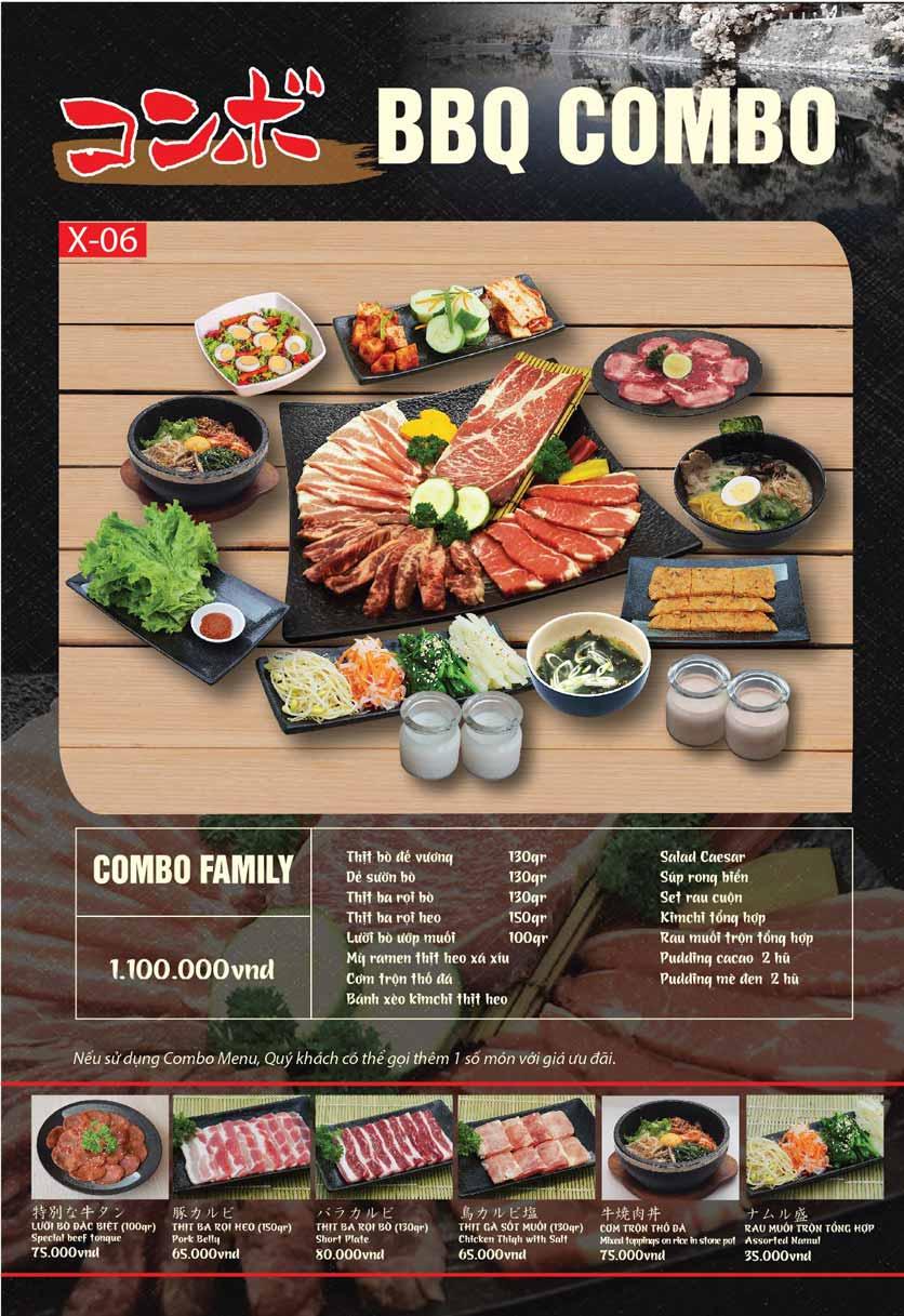 Menu Tokori BBQ - Ngô Quyền 49