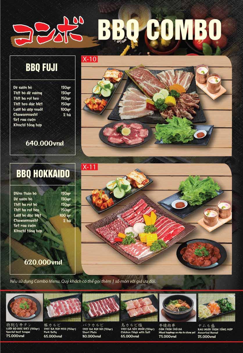 Menu Tokori BBQ - Ngô Quyền 51