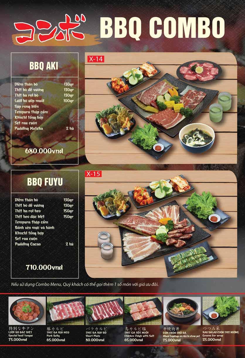 Menu Tokori BBQ - Ngô Quyền 53
