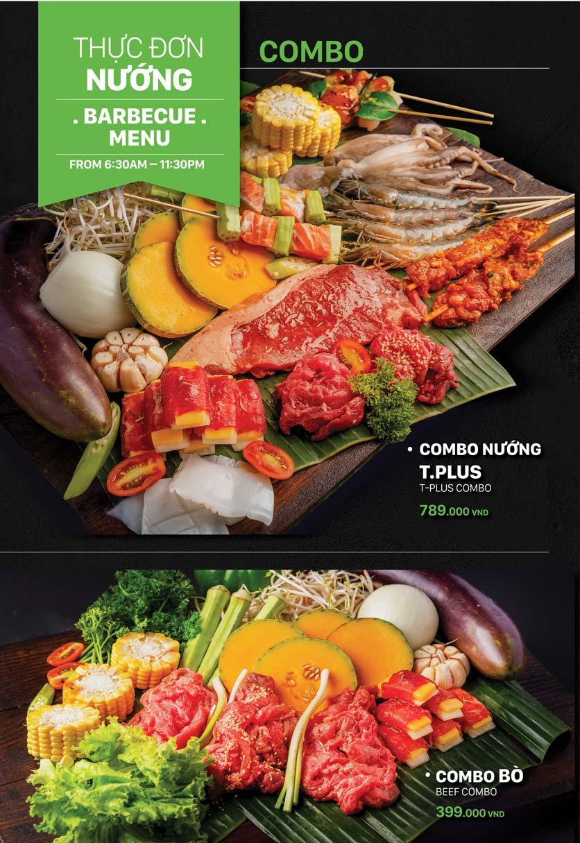 Menu T.Plus BBQ World - Lê Thánh Tôn 7