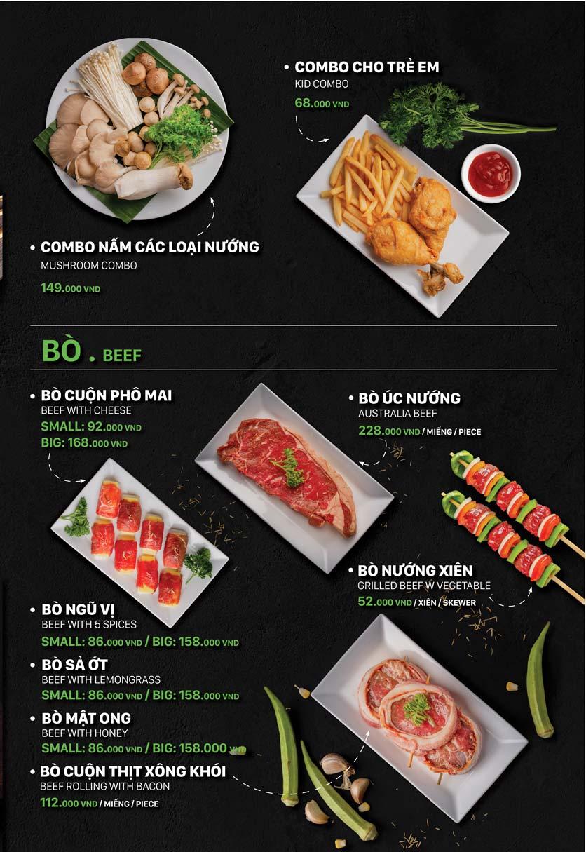Menu T.Plus BBQ World - Lê Thánh Tôn 8