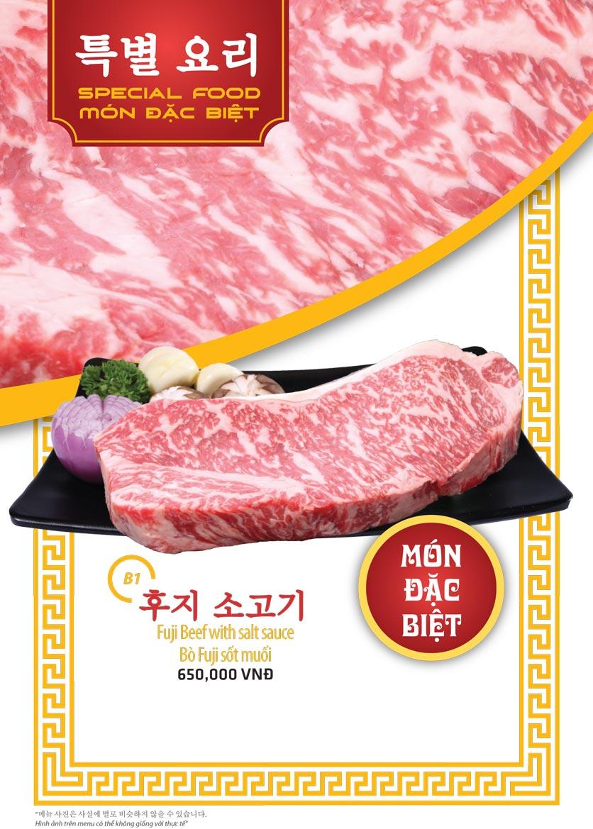 Menu Ulsan BBQ - Thái Văn Lung 1