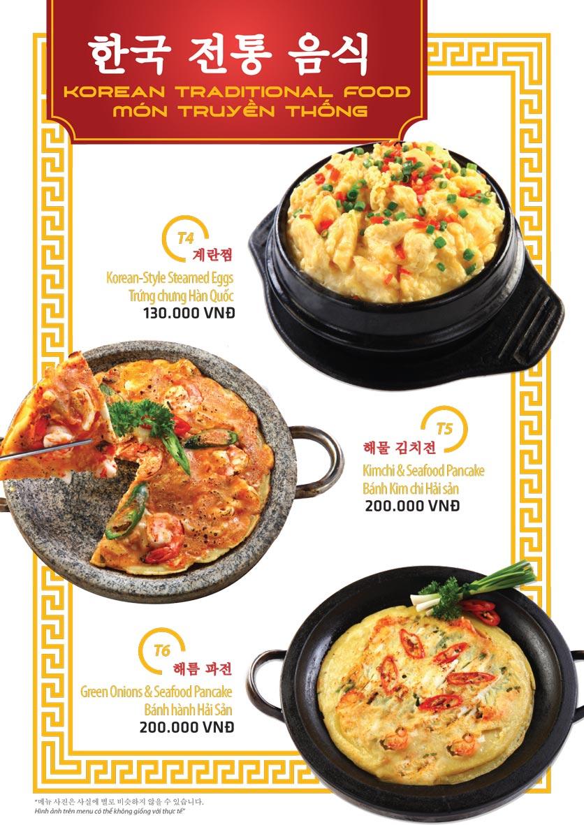 Menu Ulsan BBQ - Thái Văn Lung 10