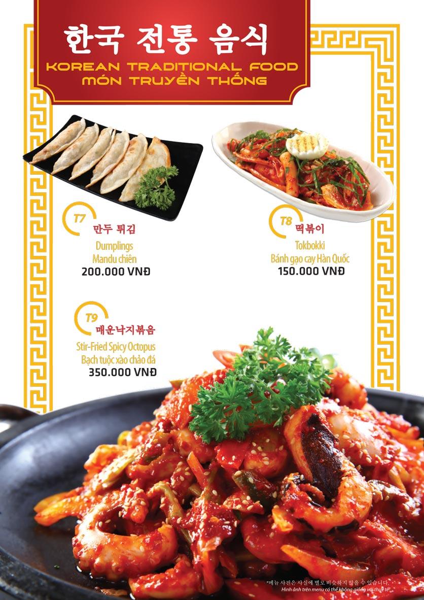 Menu Ulsan BBQ - Thái Văn Lung 11