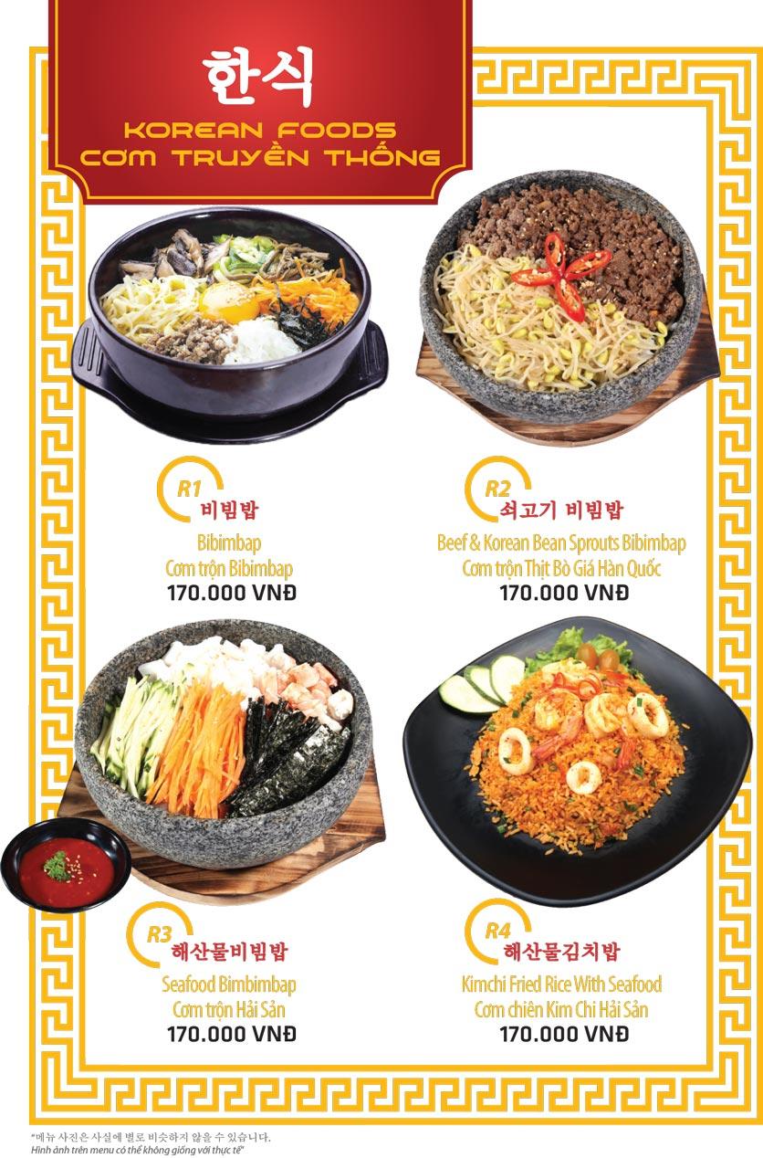 Menu Ulsan BBQ - Thái Văn Lung 14