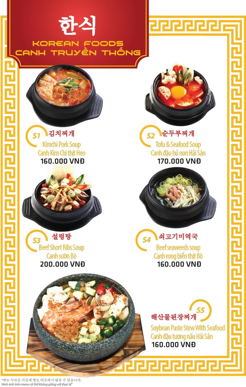 Menu Ulsan BBQ - Thái Văn Lung 15