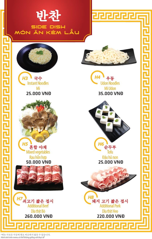 Menu Ulsan BBQ - Thái Văn Lung 17